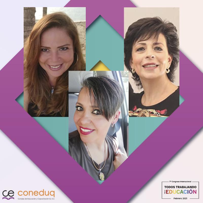 Sandra Fontes, Maru Fernandez y Claudia González