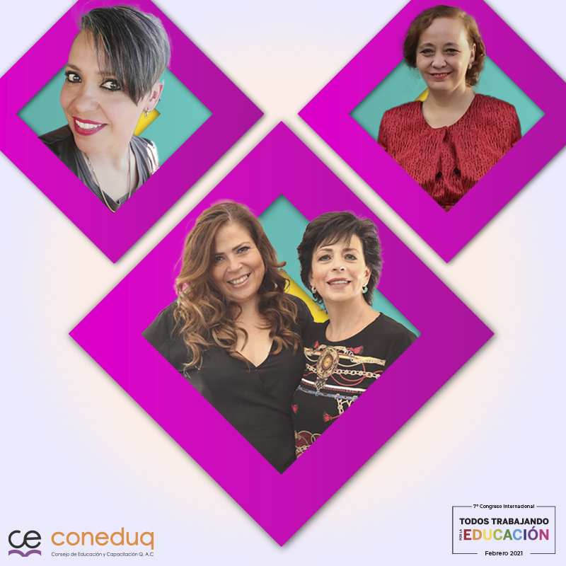 Sandra Fontes, Yasmin Aguirre, Maru Fernandez y Claudia González